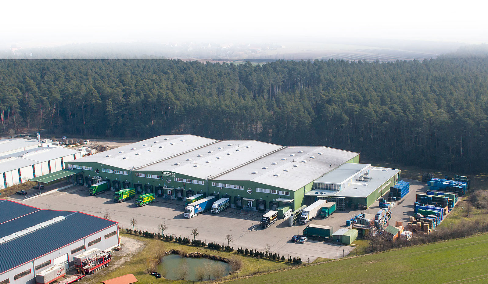 Mader Logistikzentrale Ansbach